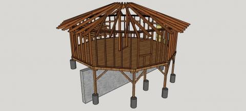 10-úhelníková stavba